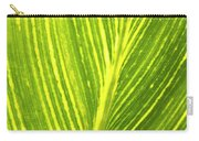 The Detail Of Plant Leaf, Salt Lake Carry-all Pouch