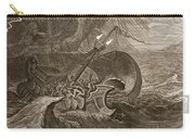The Dioscuri Protect A Ship, 1731 Carry-all Pouch by Bernard Picart