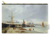 The Docks On The Bank At Greenwich  Carry-all Pouch