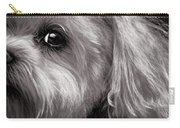 The Dog Next Door Carry-all Pouch by Bob Orsillo