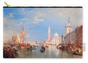 The Dogana And San Giorgio Maggiore Carry-all Pouch