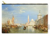 The Dogana And San Giorgio Maggiore Carry-all Pouch
