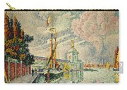 The Dogana Carry-all Pouch by Paul Signac