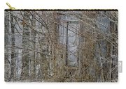 The Door To The Past Carry-all Pouch by Wilma  Birdwell