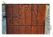 The Door - Vintage Art By Sharon Cummings Carry-all Pouch by Sharon Cummings