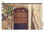 The Door With Overview Of Ronda Carry-all Pouch