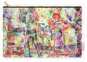 The Doors Live Concert Portrait Carry-all Pouch