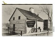 The Downingtown Log House  Carry-all Pouch