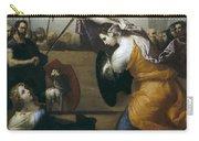 The Duel Of Isabella De Carazzi And Diambra De Pottinella Carry-all Pouch