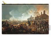 The Duke Of Wellington At La Haye Sainte. The Battle Of Waterloo Carry-all Pouch