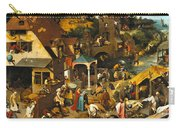 The Dutch Proverbs Carry-all Pouch