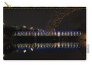 The East Falls Bridge At Night - Philadelphia Carry-all Pouch