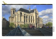 The Eglise De Saint-eustache Paris France  Carry-all Pouch