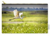 The Egret In Flight Series V3 Carry-all Pouch