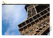 The Eiffel Tower From Below Carry-all Pouch by Nila Newsom