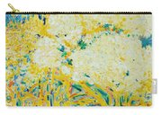 The Elderflower Tree Oil On Canvas Carry-all Pouch