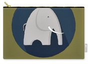 The Elephant Cute Portrait Carry-all Pouch