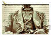 The  Emancipation Proclamation And Abraham Lincoln Carry-all Pouch