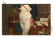 The Emperor Napoleon In His Study 1812 Carry-all Pouch