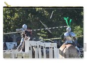 The End To The Jousting Contest  Carry-all Pouch