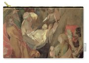 The Entombment Of Christ Carry-all Pouch by Barocci