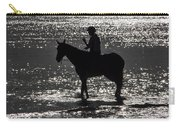 The Equestrian-silhouette Carry-all Pouch