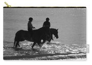 The Equestrians-silhouette V2 Carry-all Pouch