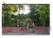 The Ernest Hemingway House - Key West Carry-all Pouch
