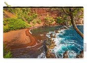 The Exotic And Stunning Red Sand Beach On Maui Carry-all Pouch
