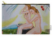 The Expulsion Hand Embroidery Carry-all Pouch