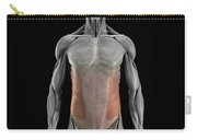 The External Oblique Muscles Carry-all Pouch