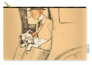 The Extra Passenger Carry-all Pouch by Cecil Charles Windsor Aldin