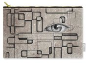 The Eye Of Big Brother Carry-all Pouch by John Malone