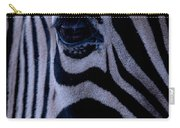The Eye Of The Zebra Carry-all Pouch