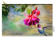 The Face Of Fuchsia Carry-all Pouch
