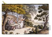 The Fair Penitent, From Ackermanns Carry-all Pouch by English School