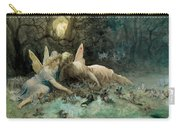 The Fairies From William Shakespeare Scene Carry-all Pouch