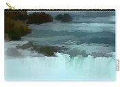 The Falls-oil Effect Image Carry-all Pouch