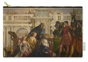 The Family Of Darius Before Alexander Carry-all Pouch