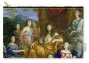 The Family Of Louis Xiv 1638-1715 1670 Oil On Canvas Detail Of 60094 Carry-all Pouch