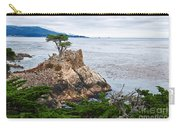 The Famous Lone Cypress Tree At Pebble Beach In Monterey California Carry-all Pouch