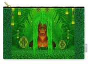 The Fantasy Girl In The Fauna  Carry-all Pouch
