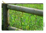 The Fence At The Meadow Carry-all Pouch