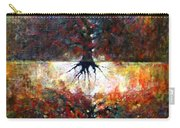 The Fire Of Forest-the Fire Of Heart Carry-all Pouch