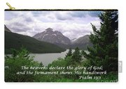 The Firmament  Psalm 19 1  Carry-all Pouch