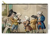 The First Approach, C.1790 Carry-all Pouch