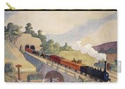 The First Paris To Rouen Railway, Copy Carry-all Pouch
