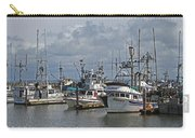 The Fishing Boats At Westport Carry-all Pouch