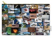 The Fishing Hole Collage Rectangle Carry-all Pouch