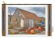 The Fishing Village Scene Carry-all Pouch